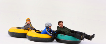 Snow Tubing at Timber Ridge Ski Area